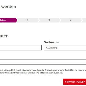 SPD-Homepage